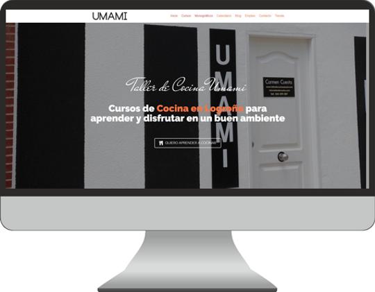 Tienda Online Taller de Cocina Umami
